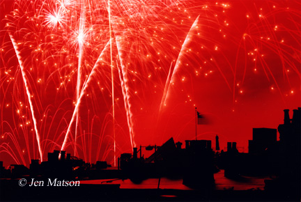 Boston Fireworks – #290