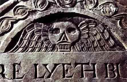 Copp's Hill tombstone – #107