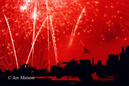 Boston Fireworks – #290
